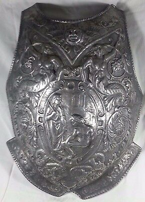 Unique Victorian Decorated Medieval Armour Breast Plate
