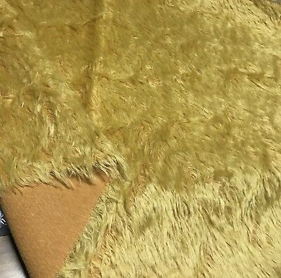 Fat 1/4 Schulte yellow gold Long Sparse Mohair