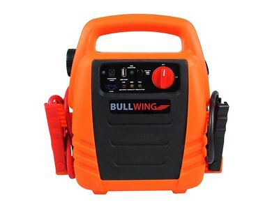 Bullwing Power Pack mit Kompressor bis 18 bar Powerpack Starthilfe Ladestation
