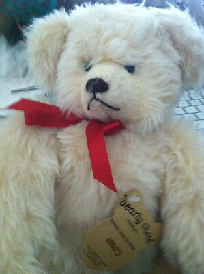 "Bearly There ""Emery"" Bear Plush Teddy Hand Signed Linda Spiegel with Tags #110"