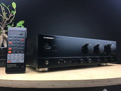 Pioneer A-501R Integrated Amplifier Incl. Remote. Made In Japan. 99p NR