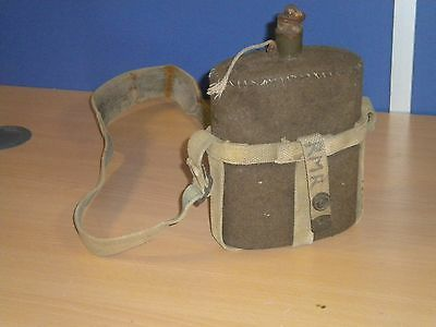 British Army Military 37 Pattern Water Bottle USED