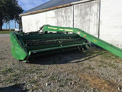 John deere 1600 hay mower conditioner