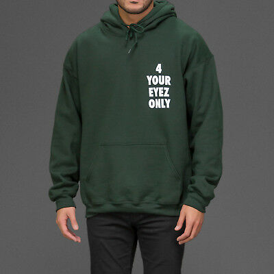 Unisex 4 Your Eyez Eyes Only Green Hoodie Hoody as worn by Hip Hop star J Cole