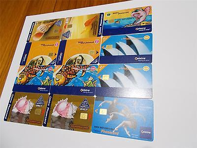 Telstra Replacement Phonecards  All Different Lrg Print Sml Print Ect   T3