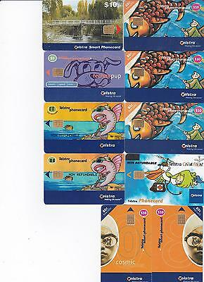 Telstra Replacement Phonecard Lrg & Sml Print I $10 Tumut Br Comp 11/2001   T40