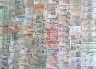 113 World and Africa Banknotes in VF Condition