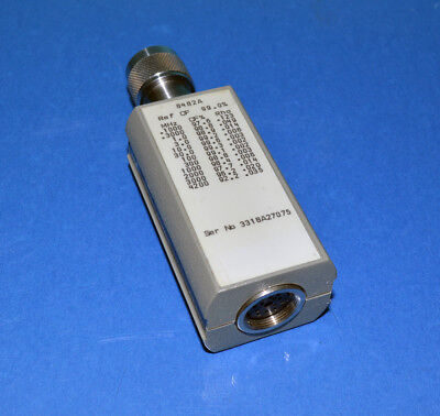 HP/Agilent 8482A RF Power Sensor 100kHz to 4.2GHz, -30 to +20dBm GOOD
