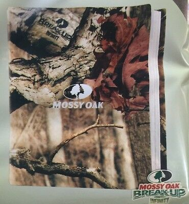 Camo Mossy Oak Book Cover Stretch by Browning  New