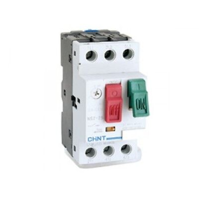 CHINT Manual Motor Starter, Protection Relay DIN rail