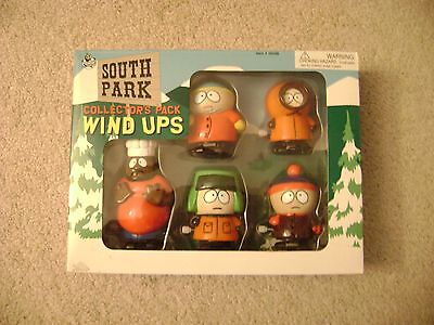 South Park Collector's Pack Wind Ups / NIB 1998 Street Players