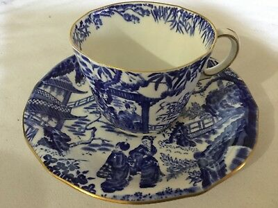 Royal Crown Derby Bone China  Cup And Saucer England