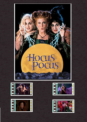 Hocus Pocus replica Film Cell Display 8 x 6 Mounted 4 cells