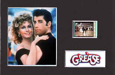 Grease replica 35mm Mounted Film Cell Presentation Display 6 x 4