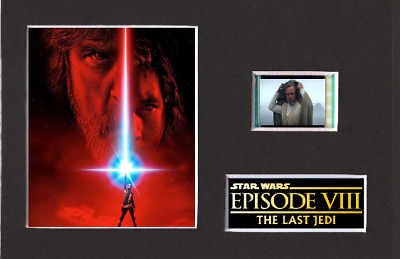 Star Wars Episode 8 35mm Mounted Film Cell Display 6 x 4