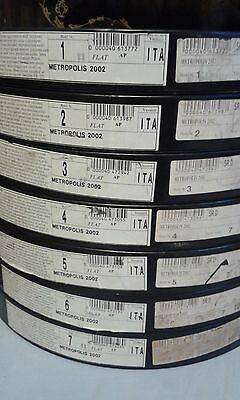 35mm METROPOLIS FEATURE FILM/MOVIE/PELLICOLA/FLAT/TRAILER/TEASER/BANDE ANIME アニメ