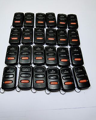 Lot Of 24 Oem Mitsubishi Keyless Entry Remote Key Fob Transmitter Hyq12Aba