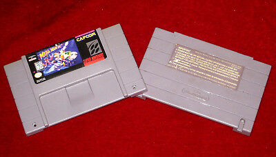 *Authentic* Super Nintendo SNES Game Cartridge Shell & Label Only MEGAMAN X2