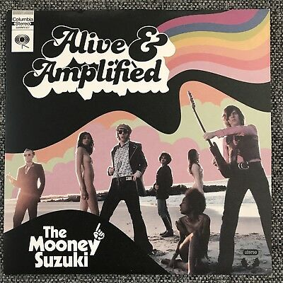 "The Mooney Suzuki - Alive & Amplified - Rare 7"" Vinyl Garage Rock Lo Fi"