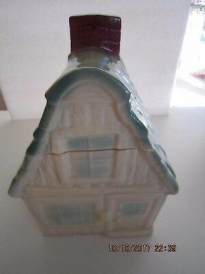 "Large 10"" Vintage BRUSH W-31 USA (McCoy) COTTAGE/ HOUSE COOKIE JAR"