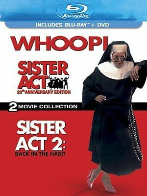 Blu Ray SISTER ACT and SISTER ACT 2 Back in the Habit. Region free. New sealed.