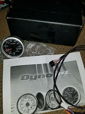 Dynojet Research Air/Fuel Ratio Guage Black Face 15-7019 1020-0157