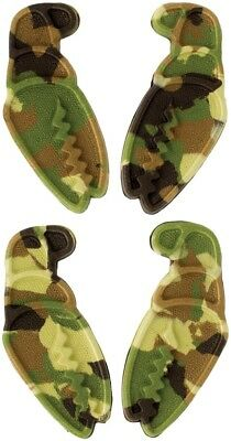 Crab Grab Mini Claws Snowboard Traction / Stomp Pads - Camo Swirl - 4 Pack