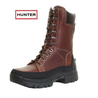 NEW RRP £275 Hunter Lace Up Outdoor Boots Size UK 8 Hunting Shooting Farming