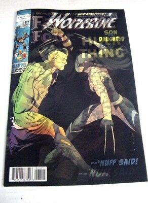 Wolverine #25 Fantastic Four Hulk Vs Thing #112 3D Lenticular Variant $3 Ship!