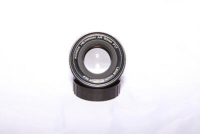 Konica Hexanon AR 50mm f1.7 - MINT GLASS - Ships From Canada!