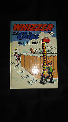Whizzer And Chips Vintage Comic Book Annual 1985
