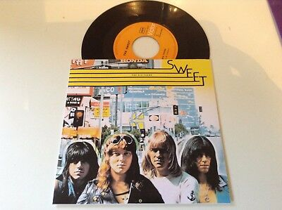 The Sweet *the Six Teens* 7'' 1974 Portuguese Edition Nm