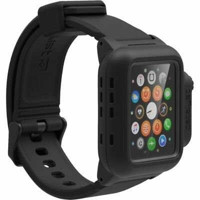 Catalyst® - Band and Case for Apple Watch 42mm Series 1 – Stealth Black 47131BBR