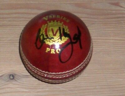 Clive Lloyd West Indies signed cricket ball with original authentic autograph