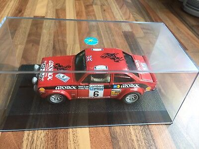 Scalextric Slot Car Ford Escort RS 1800 Rally Kit Car