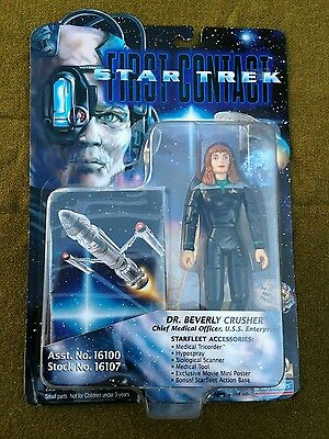 1996 - Playmates - STAR TREK First Contact DR. BEVERLY CRUSHER NIB