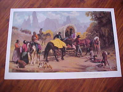 R. Brownell McGrew,  NAWA, CAA Listed Western Artist, Pencil Signed & Numbered