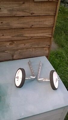 bike stabilizer for kids bike in excellent condition as not used for long