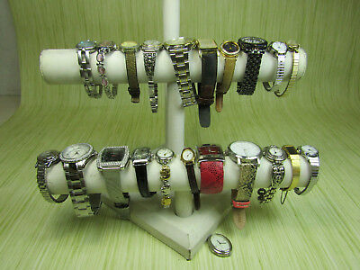 Mens Womens Jewelry Watch Lot AS IS w. Timex Pulsar Caravelle Seiko