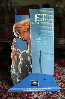 E.T. The Extra Terrestrial 1996 VHS Video Display Spielberg