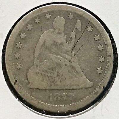1877-S 25C Liberty Seated Quarter (30927)