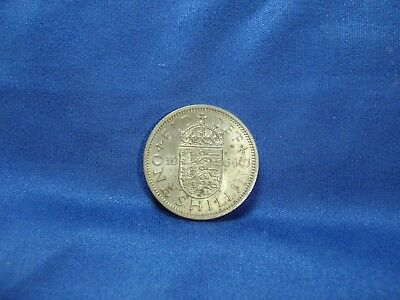 Great Britain 1964 UK 1 Shilling - Free Shipping to US