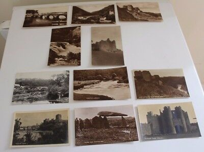 eleven Cardigan , Pembrokeshire wales vintage  post cards x11