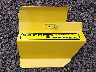 VW T6 SAFE T PEDAL VW SECURITY IN Yellow RIGHT HAND DRIVE