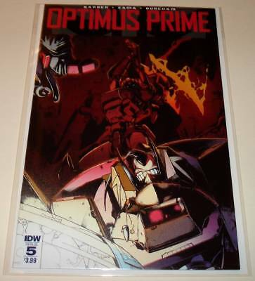 Transformers OPTIMUS PRIME # 5  IDW Comic   March 2017   NM