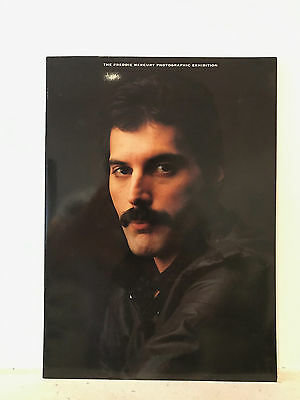 The Freddie Mercury Photographic Exhibition 20 page glossy brochure