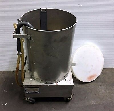 Houston Fearless 76 HF ChemMaster 10S 10 Gallon Mix and Transfer Tank Stainless