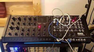 Korg MS-20M, Analog Synthesizer (MIDI, Revisions 1+2 Filters, PWM)