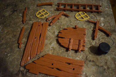 windmill ladder windows supports planking door sails holding thing job lot