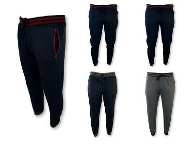 Mens Casual Jogger active  Sweatpants Cotton Fleece Gym Training Workout AEagle